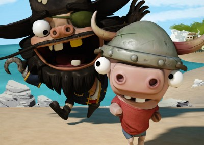 The Adventures of Barty and the Pirate (2014) by Mark Chavez