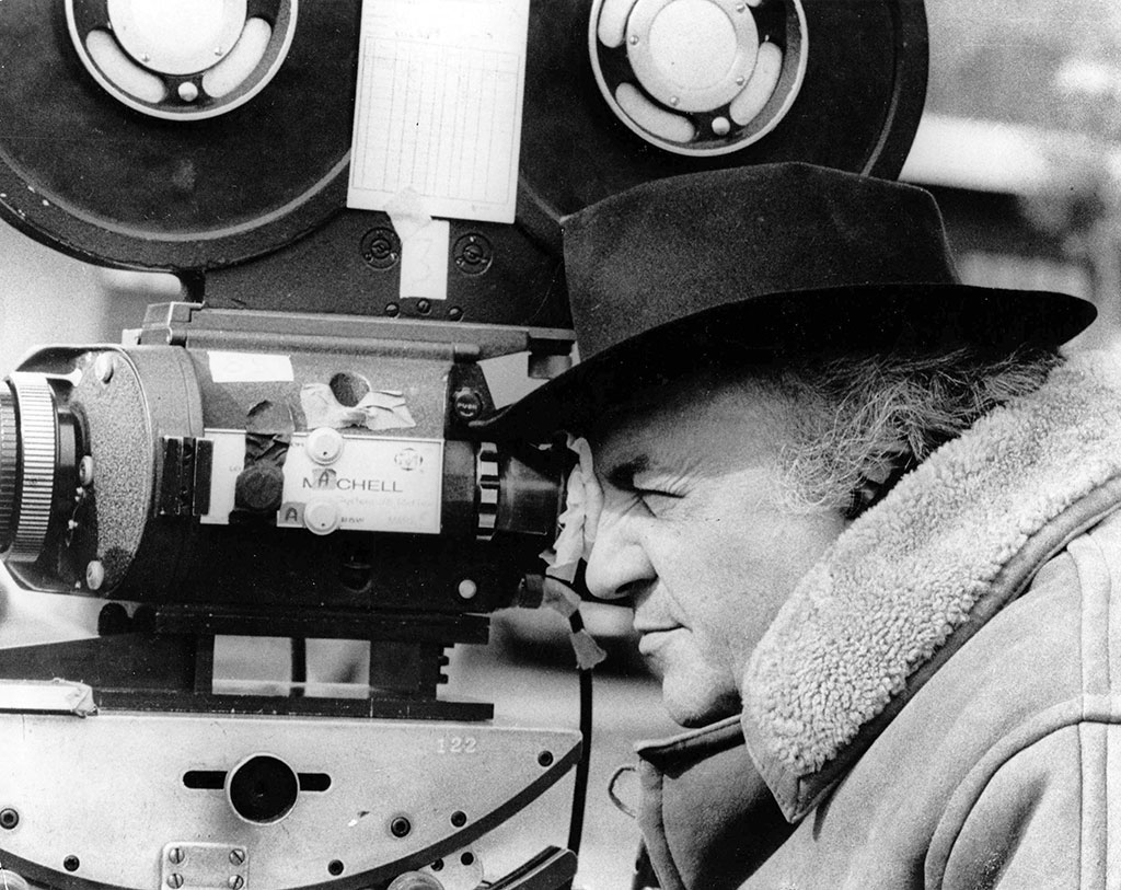 Fellini at work (Date unknown)