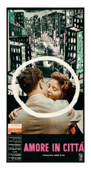 Un'agenzia matrimoniale in  L'Amore in città (1953)