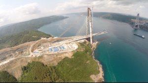 Construction Process of Yavuz Sultan Selim Bridge