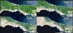 Satellite images of İstanbul