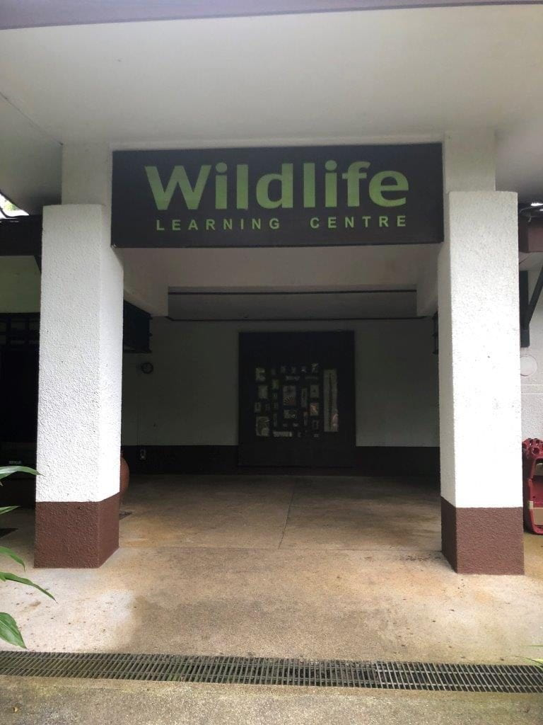 We were invited to a special guest lecture at the Zoo's Auditorium @ Wildlife Learning Centre.