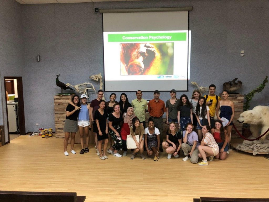 During the lecture we learnt about the brief history of Singapore Zoo and the steps that have been taken towards wildlife conservation and education, both within Singapore and internationally.