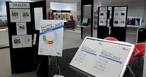 WKWSCI FYP 2013: A FYP Exhibition by NTU Libraries