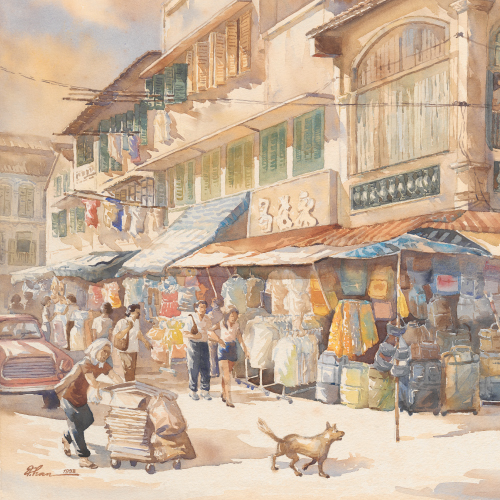 Now and Then: Watercolour paintings by Allan Chan