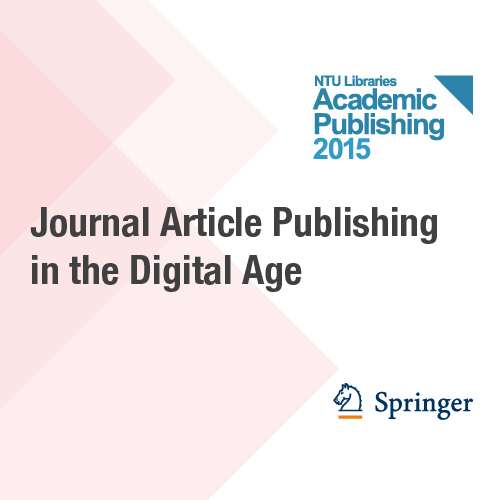 10 Mar: Journal article publishing in the digital age
