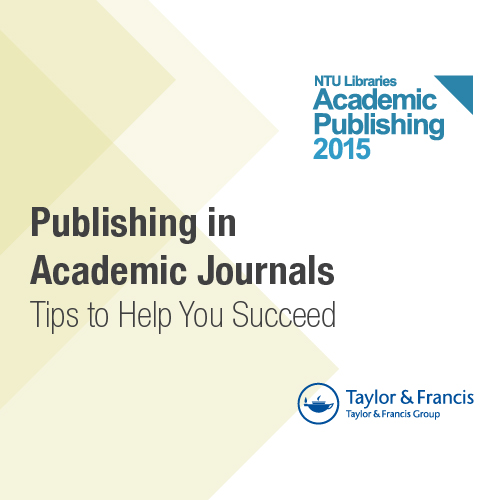 4 Mar: Publishing in Academic Journals