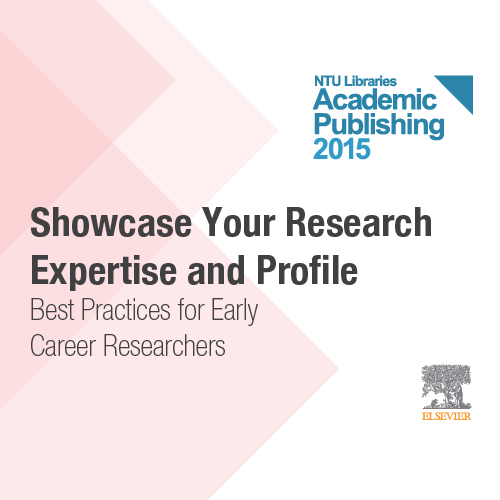 5 Mar: Showcase your research expertise and profile