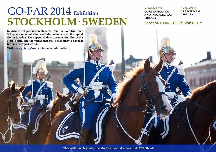 GO-FAR 2014 – The Swedish Way – An Exhibition at NTU Libraries (3 Mar – 30 Apr)