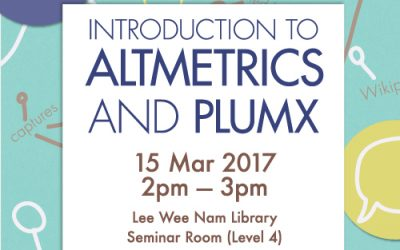 Introduction to Altmetrics and PlumX