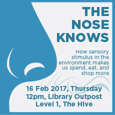 The Nose Knows – 16 Feb 17 @ The Outpost
