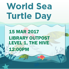 Talk: World Sea Turtle Day (15 March 2017)