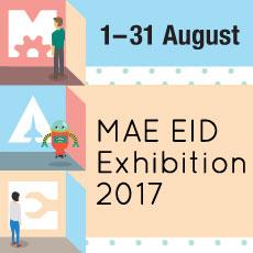 MAE-EID Exhibition @ Lee Wee Nam Library
