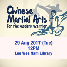 Talk: Chinese Martial Arts for the Modern Warrior