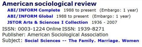 sociology-journal