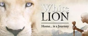 Poster for the movie White Lion