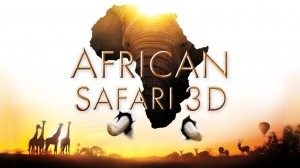 A poster of movie African Safari 3D. Image Source