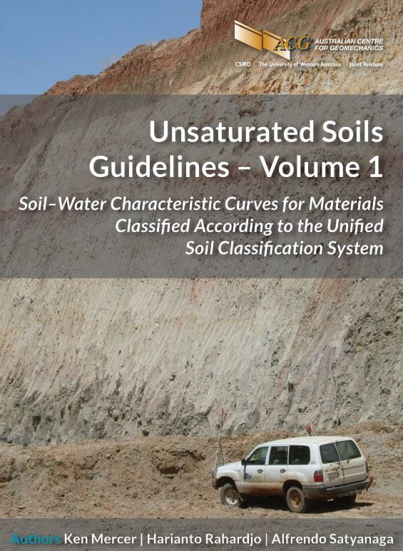 Unsaturated soil guidelines cover