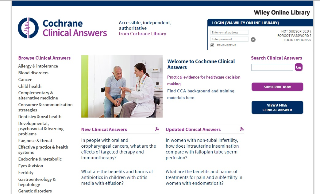 cochrane-clinical-answers