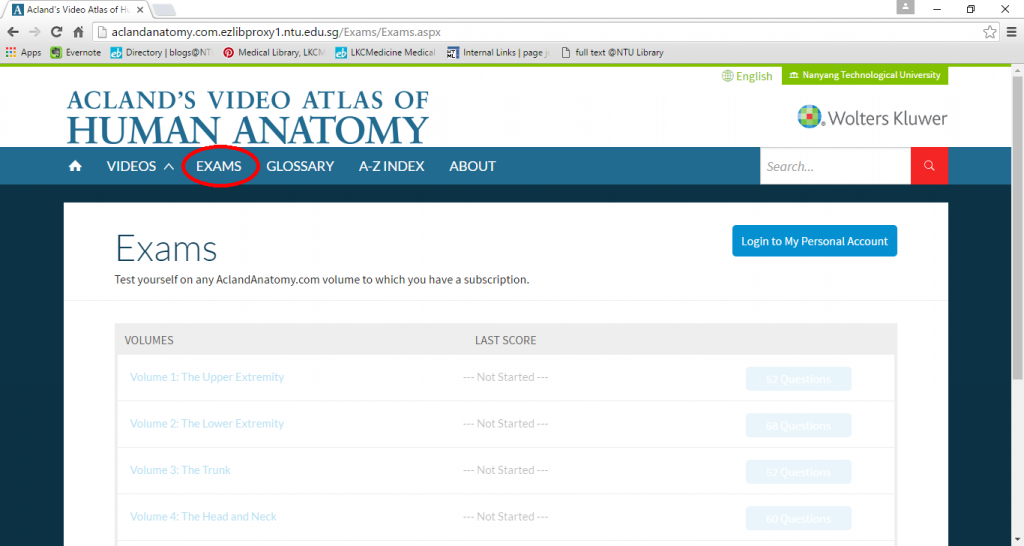 Guide To Using Aclands Video Atlas Of Human Anatomy Welcome To