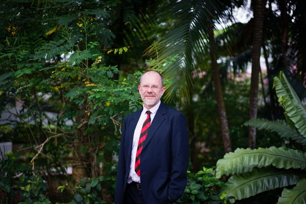 Introducing Professor Simon Redfern, the new Dean of the College of Science