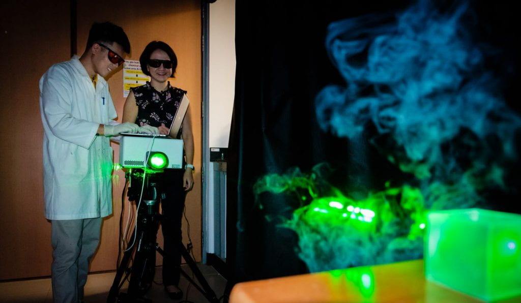 Airborne chemicals instantly identified using new technology developed at NTU Singapore