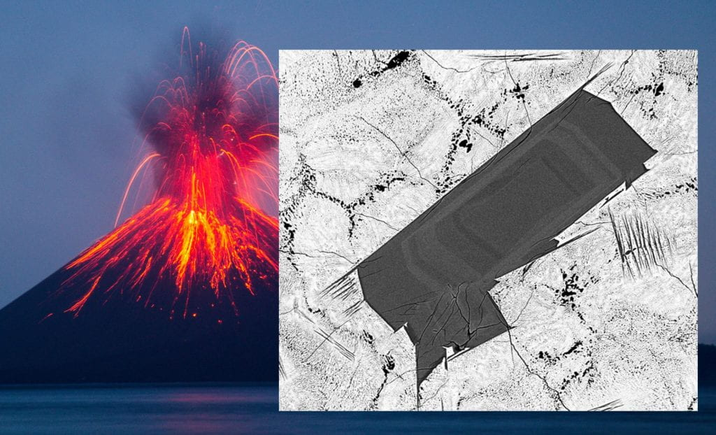 Volcanic crystals reveal time scale of volcanic plumbing system processes