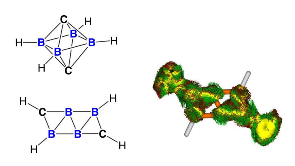 Discovery of a Two-Dimensional Carborane Cluster