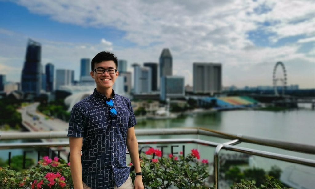 ASE graduate Foo Zhen Hui wins Esri Young Scholars Award 2020