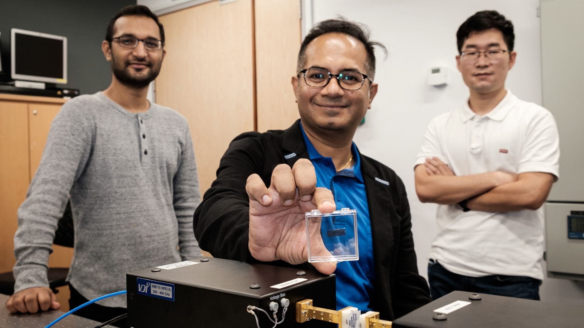An ultra-fast-speed Terahertz silicon chip for the future
