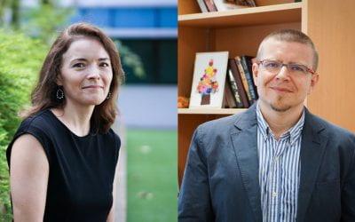 Two CoS faculty members win the John Cheung Social Media Award