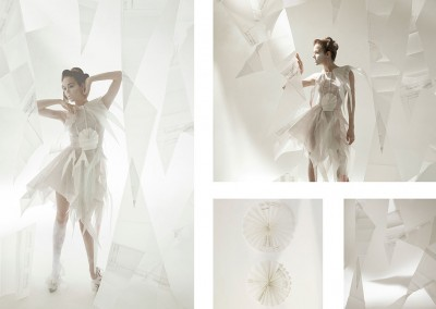 Illuminating Paper Dresses