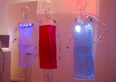 Aloft, Luminex dresses by Anke Loh