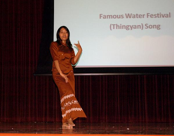 Water Festival (Thingyan) Dance