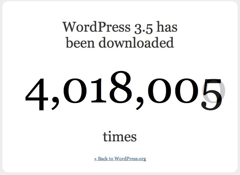 "Introducing WordPress 3.5 ""Elvin"""