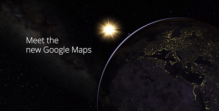 Meet the New Google Maps: Re-imagine Maps