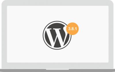 What's new in WordPress 3.8.1?