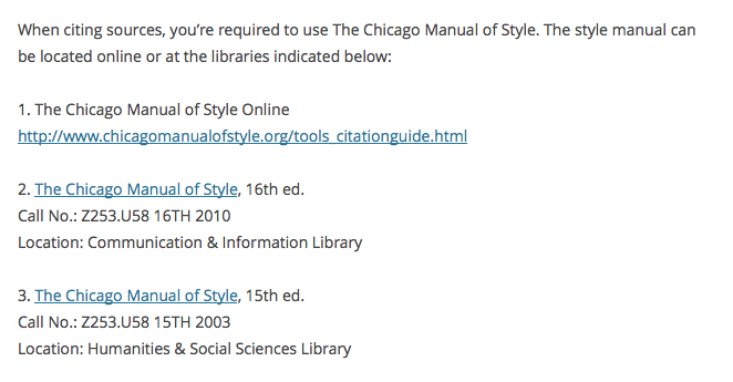 Direct Linking to Library resources