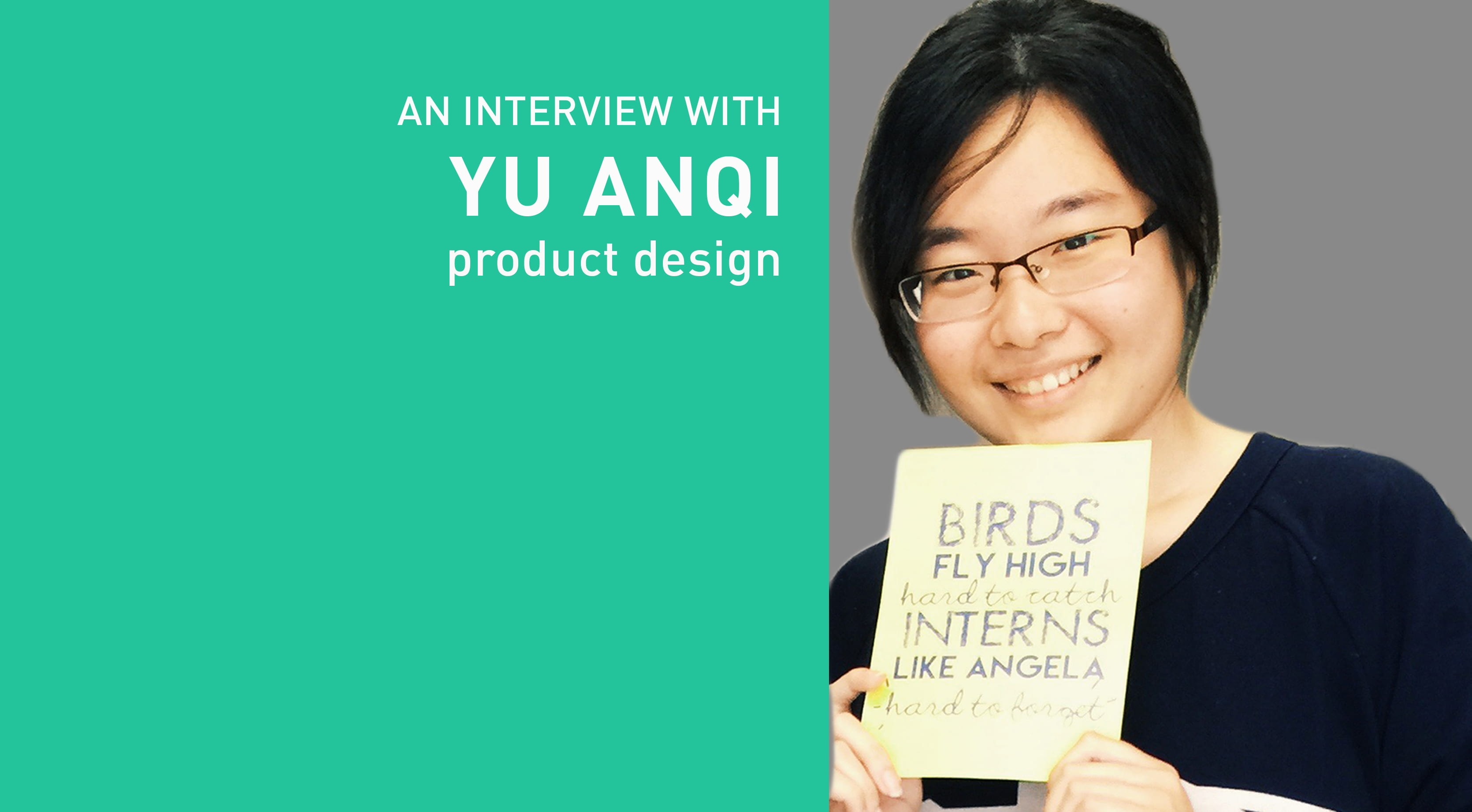 UPCOMING SHOW-AND-TELL WITH YU ANQI