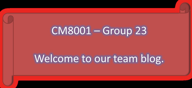 CM8001 Group 23