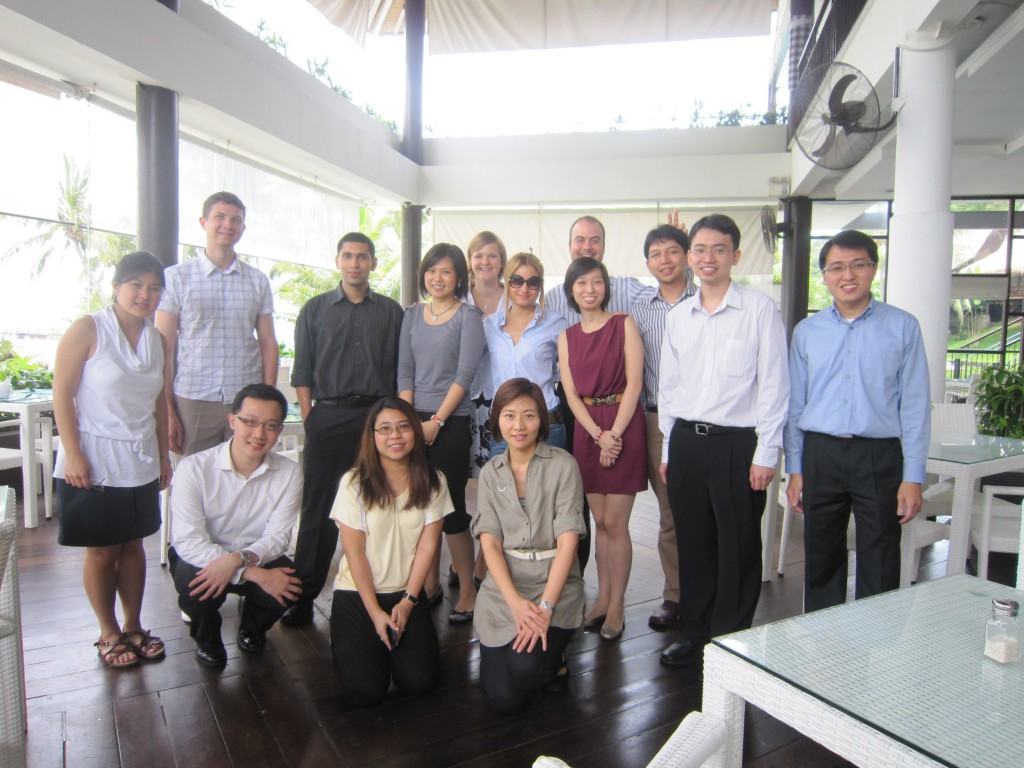 The NANYANG MBA Class 2011 Trip to IFW, Batam, Indonesia