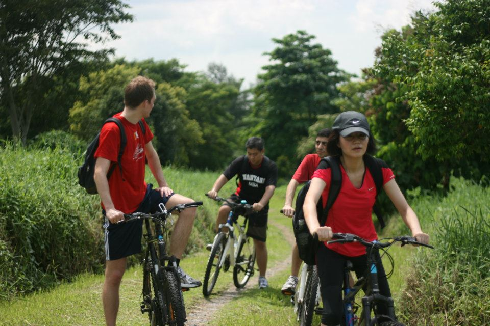 Visiting nature – Corporate Social Responsibility (CSR) Club goes biking in Pulau Ubin