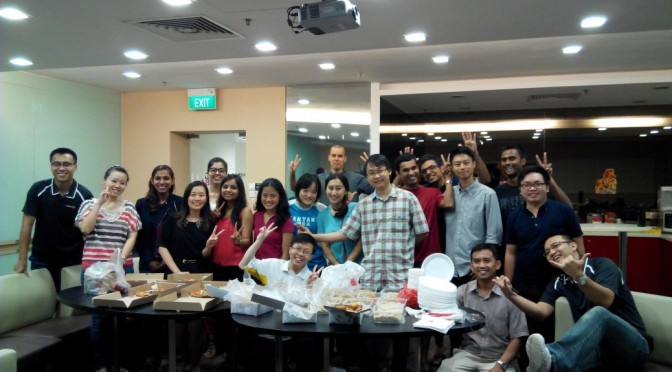 Singapore Delights & Exco Election Party