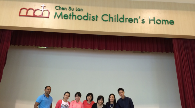 CSR Club Visits Children's Home