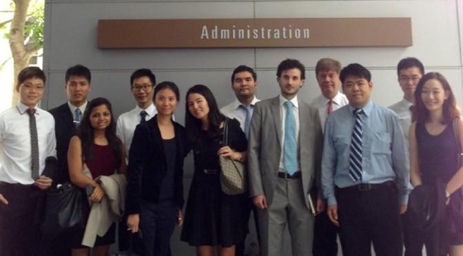 Nanyang Business School Participation in CEIBS 2014 MBA Career Trek