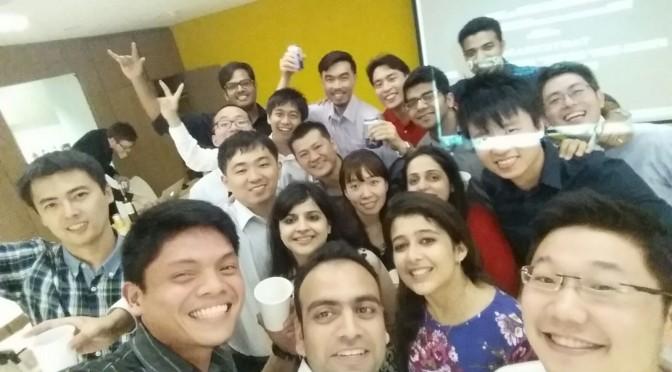 End of Marketing Course Celebration