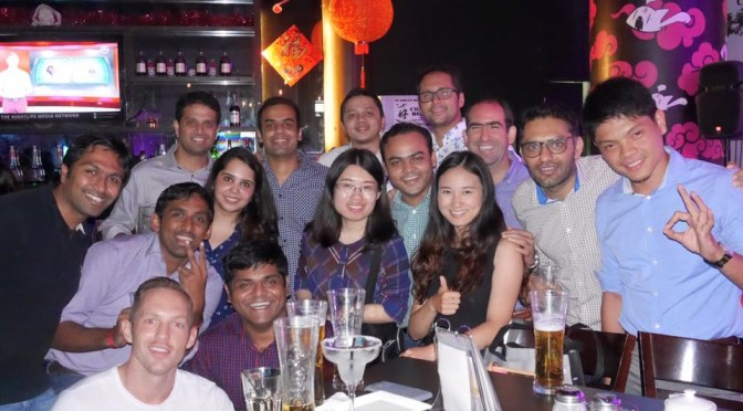 CUHK Networking event