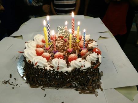 deep bday cake