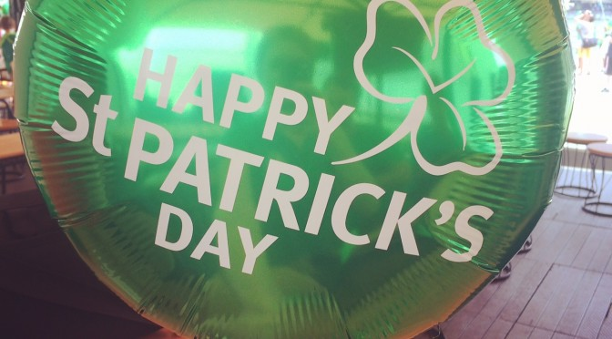 Happy St Patrick´s Day – keep calm and go green!