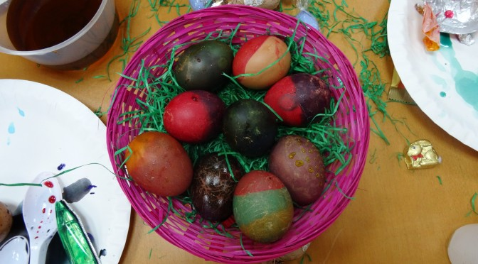 Happy Belated Easter – An Egg Hunt on NTU campus